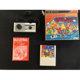 SEGA mark III Alex Kidd BMX Trial boite + notice