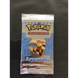 promo Lot 4 Boosters Pokémon aquapolis wizard sceller sortie display