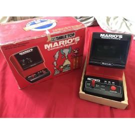 console Mario Cement Factory - Game & Watch NINTENDO - Tabletop Arcade