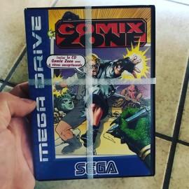 SEGA Mega Drive jeu - Comix Zone NEUF