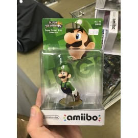 AMIIBO Nintendo figurine figure OFFICIEL luigi super smash bros