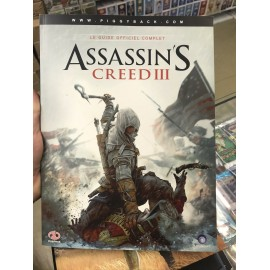 ASSASSIN S CREED LE GUIDE OFFICIEL COMPLET III francais