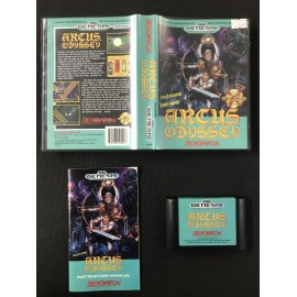 Arcus Odyssey Sega Mega Drive version Genesis BOITE + NOTICE