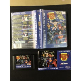 Justice League Task Force Sega MEGA DRIVE COMPLET PAL BOITE + NOTICE
