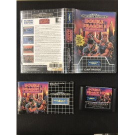 double dragon 3 the arcade game Sega Mega Drive version Genesis BOITE + NOTICE