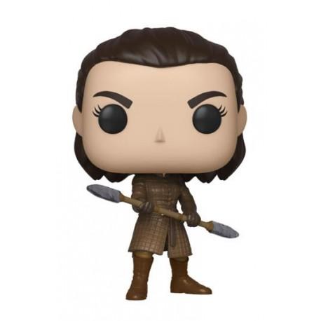 funko pop Game of Thrones Television Vinyl figurine Arya w/Two Headed Spear 9 cm