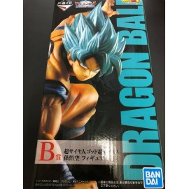 BANPRESTO Dragon Ball Z BWFC DBZ Goku SS Kameha MONO 21cm
