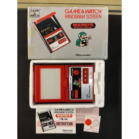 Game & Watch Panorama Screen Mario's Bombs Away. Nintendo 1983