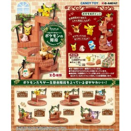 Re-ment Pokemon's Pas Pokemon Escaliers Complet Ensemble 6 Pcs Japon Officiel
