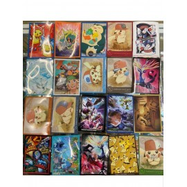 POKEMON POCKET MONSTERS lot de 20 sleeves pokemon différentes