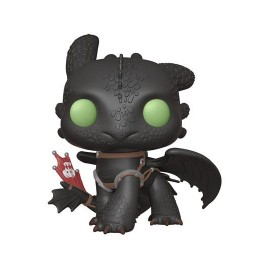 Dragons 3 Le Monde caché Super Sized POP! Vinyl figurine Toothless 25 cm