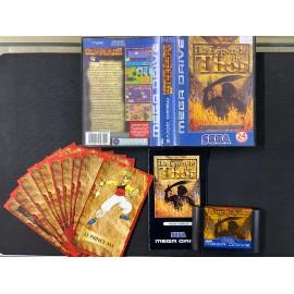 sega mega drive la legende de thor boite / notice / 10 cartes