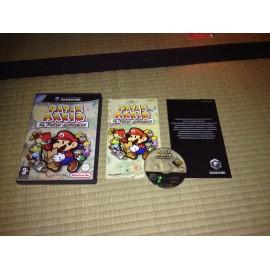 nintendo game cube / paper mario la porte millénaire / boite / notice / PAL/ FRANCAIS