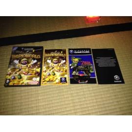 nintendo game cube / wario ware inc mega party game/ boite / notice / PAL/ FRANCAIS