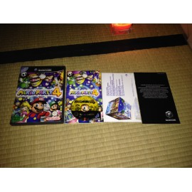 nintendo game cube / mario party 4 / boite / notice / PAL/ FRANCAIS