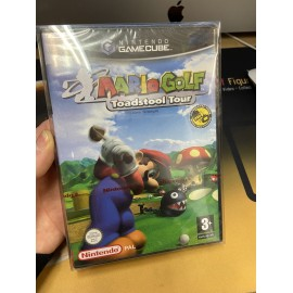 nintendo game cube / MARIO GOLF TOADSTOOL TOUR BLISTER / boite / notice / PAL/ FRANCAIS