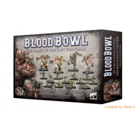 WARHAMMER Gwaka'moli Crater Gators - Lizardmen Blood Bowl Team