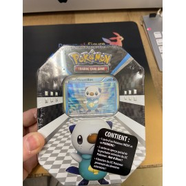 pokemon POKEBOX 2011 POUSTILLON platine / noir et blanc / possible diamant et perle
