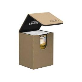 Ultimate Guard boîte pour cartes Flip Deck Case 80+ taille standard Sable