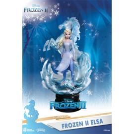 disney La Reine des neiges 2 diorama PVC D-Stage Elsa 15 cm