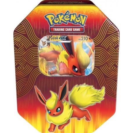 pokemon POKEBOX francais BOX voltali GX 4 BOOSTERS NEUF
