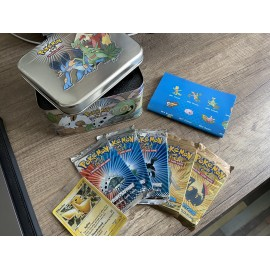 pokemon gift pack POKEBOX EX Deck Box Tin, rayquaza booster