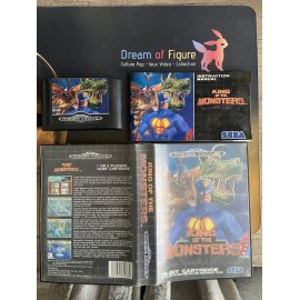 sega mega drive genesis / king of the monsters / boite / notice
