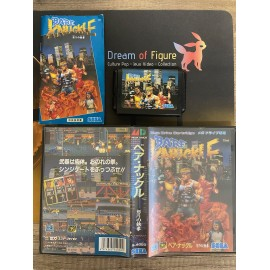 sega mega drive japan / Bare Knuckle: Ikari no Tekken / boite / notice