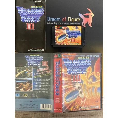 sega mega drive japan / Burning Force / boite / notice