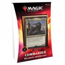 FRANCAIS MTG magic the gathering Decks - Commander 2020 - Régiment Impitoyable