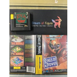 sega mega drive pal / rings of power / boite /