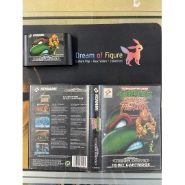 sega mega drive pal / turtles tournament fighters / boite /