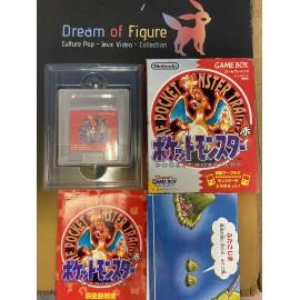 pocket monsters Nintendo game boy color POKEMON rouge red 赤 JAP