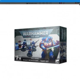 Warhammer 40K 40 000 Paint Set - Necrons Warriors