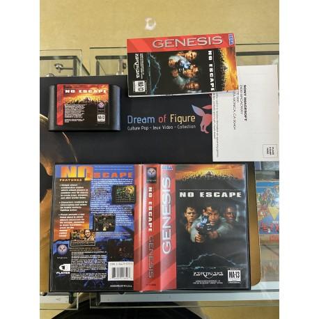 SEGA retro gaming gEnesis MEGADRIVE star trek deep space nine crossroads of time boite / notice