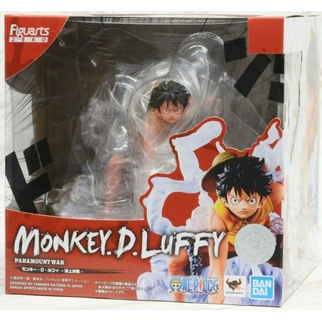 MONKEY D LUFFY RUFY RUBBER ONE PIECE HAT FIGUARTS ZERO BANDAI FIGURA FIGURE