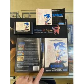 SEGA retro gaming gEnesis MEGADRIVE sonic 1 boite / notice