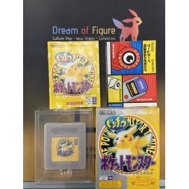 pocket monsters Nintendo game boy color POKEMON jaune yellow 黄 JAP