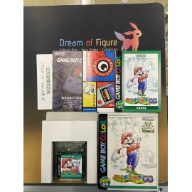 pocket monsters Nintendo game boy color Mario Golf JAPanese