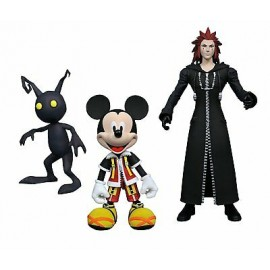 Kingdom Hearts Select série 1 assortiment packs 3 figurines 18 cm SORA DUCK SOLDIER