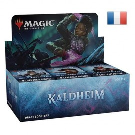MTG magic the gathering Wizards of the Coast Kaldheim 36 Boosters de Draft francais