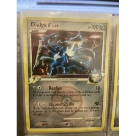 TCG POKEMON PROMO HOLO DIALGA 7/127 PROMO LEAGUE US