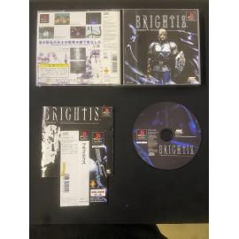 jeux playstation japanese boite notice BRIGHTIS