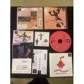 jeux playstation japanese boite notice abe'99