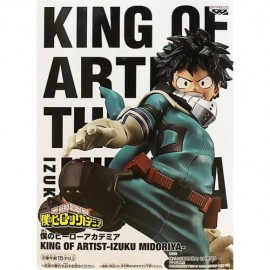 banpresto Bandai My Hero Academia King Of Artist - Izuku Midoriya - Figure