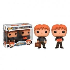 Figurine POP! Harry Potter Fred and George Weasley 2 Pack Vinyl Figures 10cm