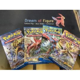 tri pack Boosters Pokemon RUPTURE turbo x2 + 1 ciel rugissant en francais