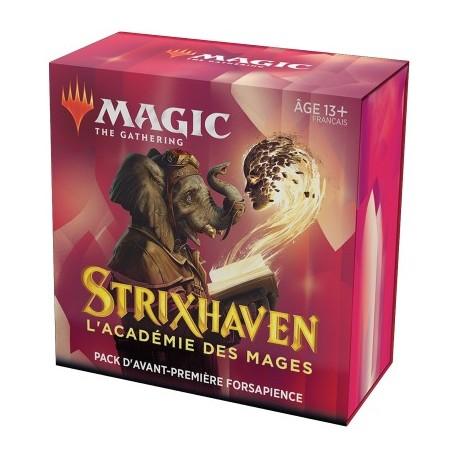 FRANCAIS Magic the Gathering Strixhaven l'Académie des Mages Pack d'Avant Première Prismari