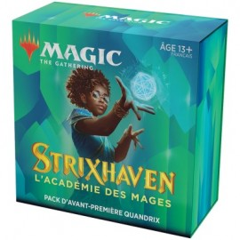 FRANCAIS Magic the Gathering Strixhaven l'Académie des Mages Pack d'Avant Première Quandrix