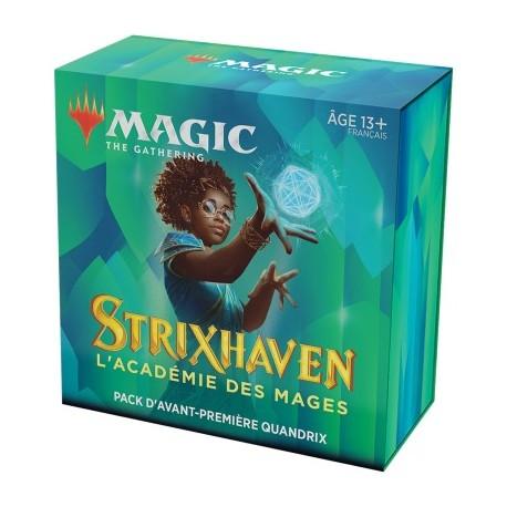 FRANCAIS Magic the Gathering Strixhaven l'Académie des Mages Pack d'Avant Première Forsapience